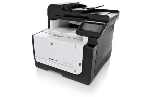 HP LaserJet Pro CM1415fnw colour laser multifunction