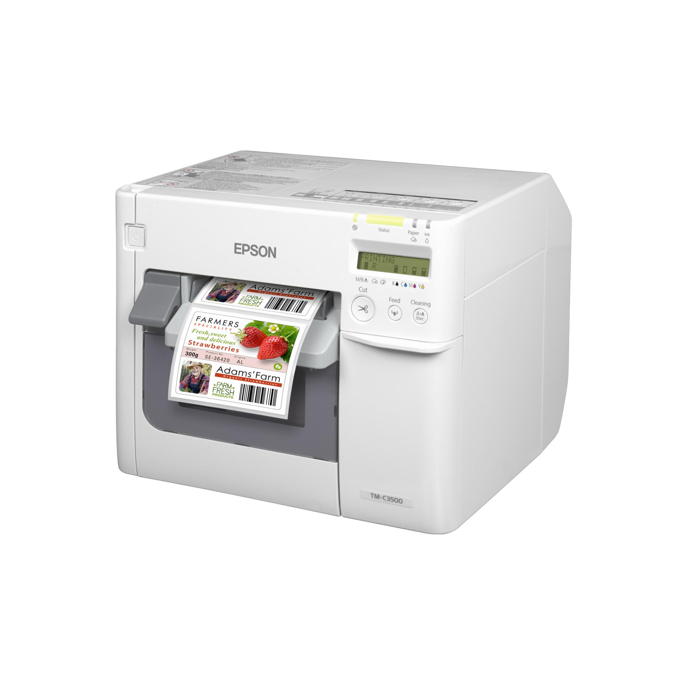 Epson Colourworks C3500 Label Printer