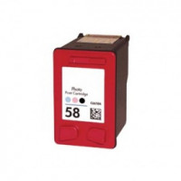 HP (Hewlett Packard) Inkjet Cartridge C6658 no.58