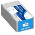 Epson Inkjet Cartridge Epson  SJIC22P CYAN