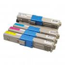 Minolta Laser Toner x T017 ycmb (4 x Toners)