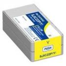 Epson Inkjet Cartridge Epson  SJIC22P Yellow