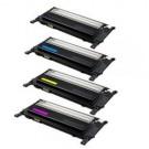 Samsung Laser Toner X-CLT-406S/BK/C/M/Y - 4