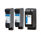HP (Hewlett Packard)  Inkjet Cartridge XXHP7845 COMBO -3
